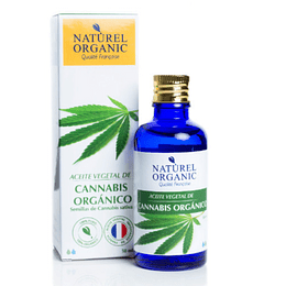 Aceite Vegetal de Cannabis Orgánico 50ml.