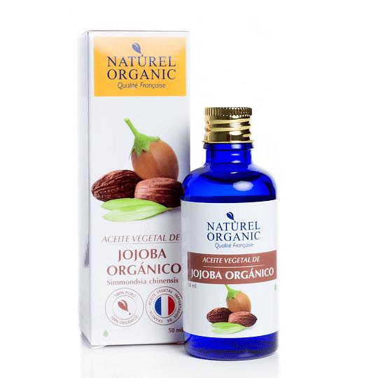 Aceite Vegetal de Jojoba Orgánico 50ml.