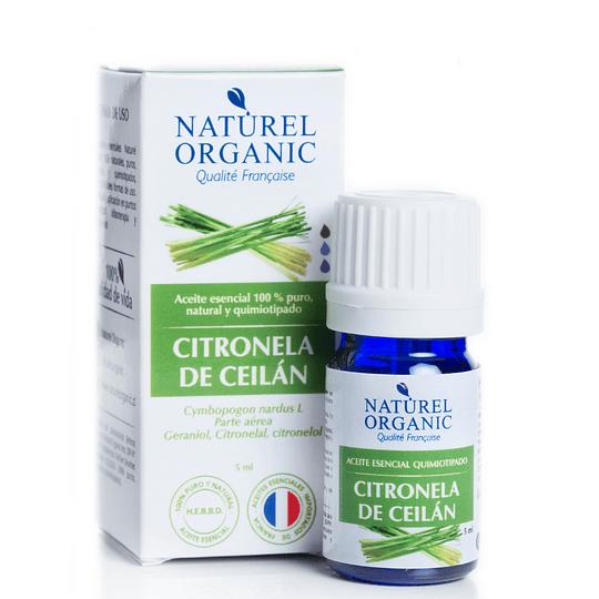 Aceite Esencial de Citronela de Ceilán 5ml