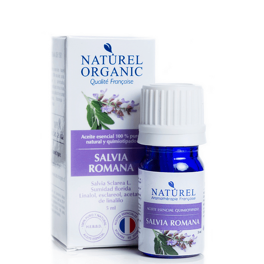 Aceite Esencial de Salvia Romana o Esclarea 5ml