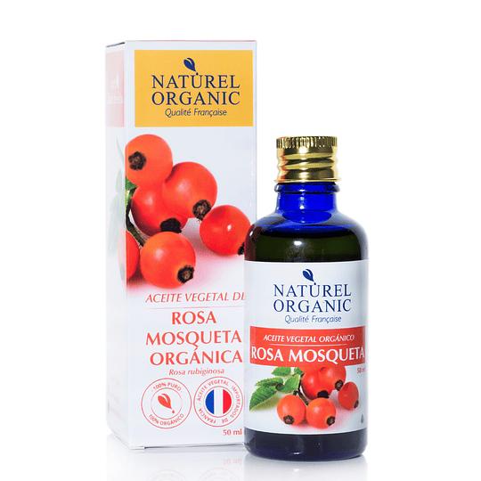 Aceite Vegetal de Rosa Mosqueta Orgánico 50ml.