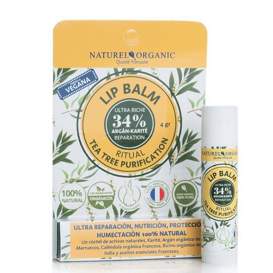 Lip balm ritual Tea tree Purification vegano 4gr.