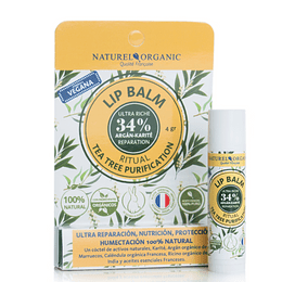 LIP BALM TEA TREE PURIFICATION vegano 4gr.