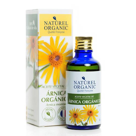 Aceite Vegetal de Árnica Orgánico 50ml.
