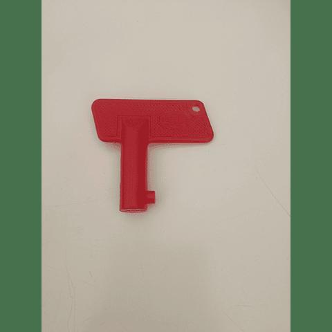 Chave de substituição para seletor de bateria