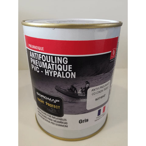 Tinta anti-vegetativa para pneumáticos