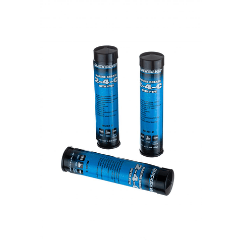 Massa lubrificante marinha Quicksilver 2-4-C com PTFE 3-Pack