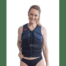 Jobe Unify colete salva-vidas feminino azul meia-noite