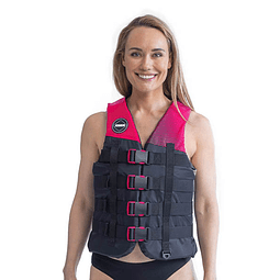 Colete Jobe Nylon 4-Buckle Vest Hot Pink