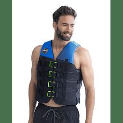 Colete Jobe Nylon  4-Buckle Vest azul
