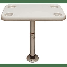 """Kit de mesa com pedestal """"Thread-Lock"""""""