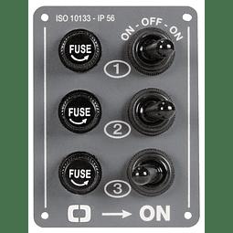 Painel de controlo elétrico