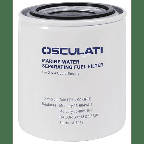 Elemento do filtro separador de água