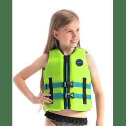 Jobe colete salva-vidas de Neoprene infantil verde limão