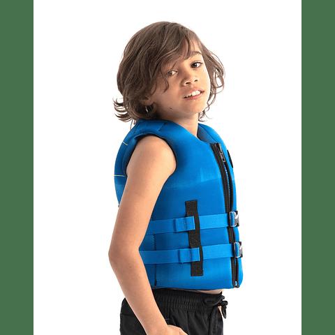 Jobe colete salva-vidas Neoprene infantil Azul