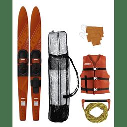 Pack Skis Jobe Allegre Red