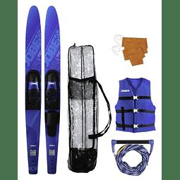 Pack de Skis Jobe Allegre Blue