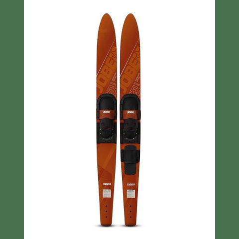 Par de Skis Jobe Allegre Red