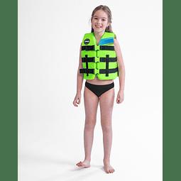 Colete Infantil Nylon Vest Youth Lime