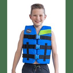 Colete Infantil Nylon Vest Youth Blue