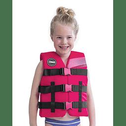 Colete Infantil Nylon Vest Youth Pink