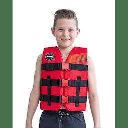 Colete Infantil Nylon Vest Youth Red