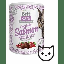 Snack Brit Care Superfruits - Salmón