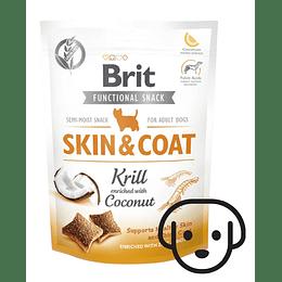 Snack Funcional Brit Skin & Coat