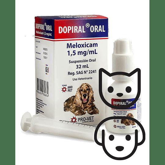 Antiinflamatorio Dopiral Oral