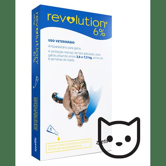 Revolution 6% (Gatos 2,6-7,5 Kg)