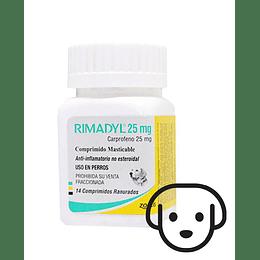 Rimadyl 25 mg - 14 Comprimidos VENTA SOLO CON RECETA