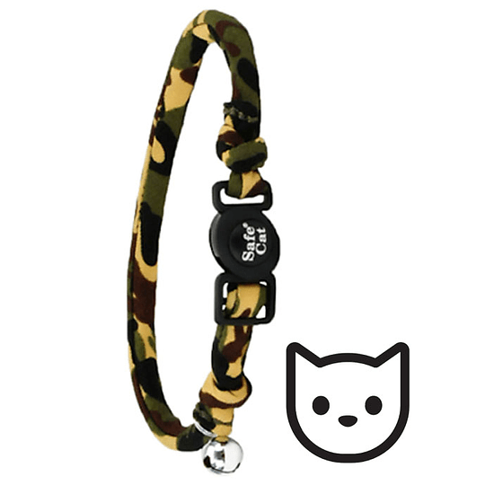 Coastal SafeCat Round Collar - Diseños