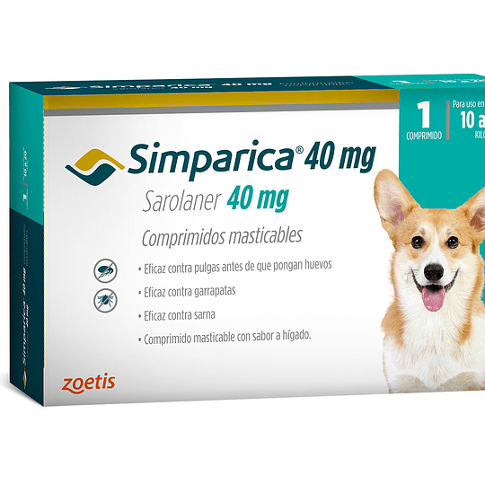 Simparica 1 Comprimido