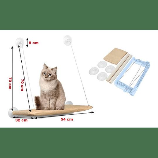 Hamaca de ventana para gatos Sunny Seat