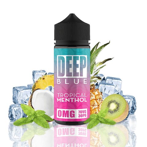 Deep Blue 100ml - 0mg