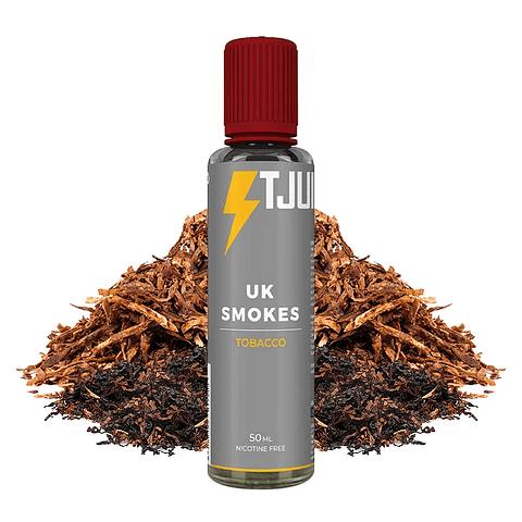 UK Smokes - T-Juice 50ml 0mg