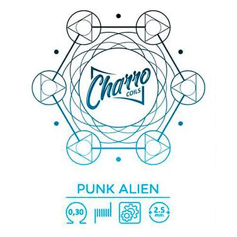 Punk Alien by Charro Coils (pack 2)