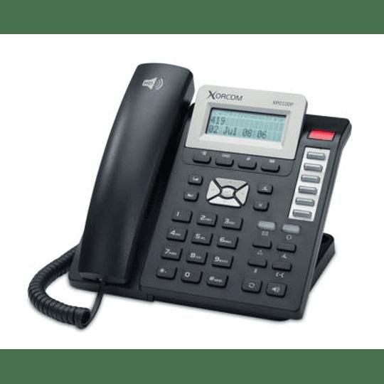 Xorcom SIP-XP100P – Incluye POE – Teléfono IP