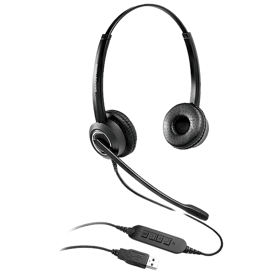 CINTILLO TELEFONICO USB BIAURAL GUV3000 GRANDSTREAM