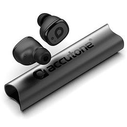 AUDIFONOS BLUETOOTH 5.0 IN-EAR ULTRA COMPACTOS CON POWER BANK VESTA ACCUTONE