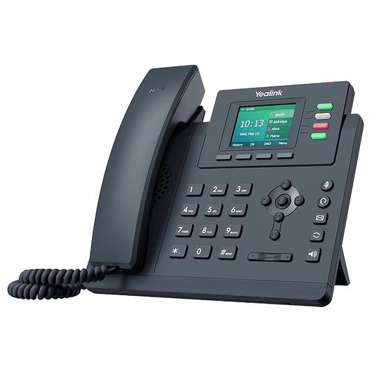 YEALINK T33P - Teléfono IP básico con 4 líneas y LCD en color