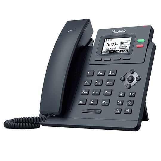 YEALINK T31G - Teléfono IP Gigabit con 2 líneas y voz HD