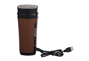 USB powered aquecimento caneca com agitação automática