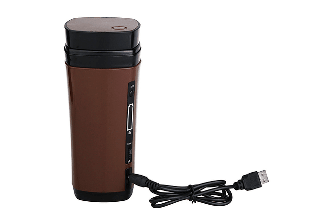 USB Powered Heating Mug with Automated Stirring