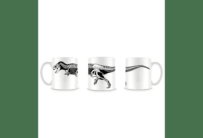 T-Rex White Mug