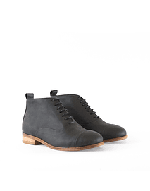 Botin Oxford negro