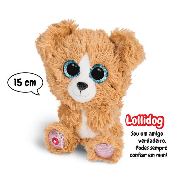 Cão Lollidog, Peluche de 15cm