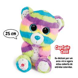 Urso Captain Cool, Peluche de 25cm