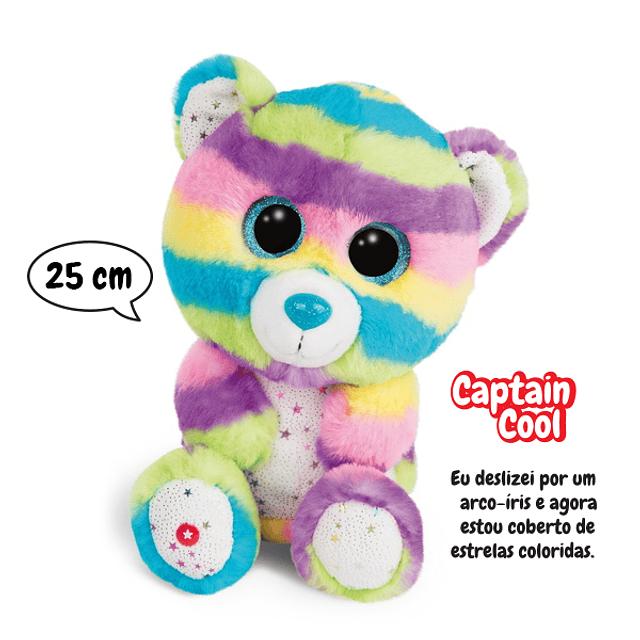Captain Cool Bear, 25cm Plush