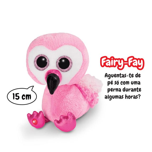 Flamingo Fairy-Fay, Peluche de 15cm